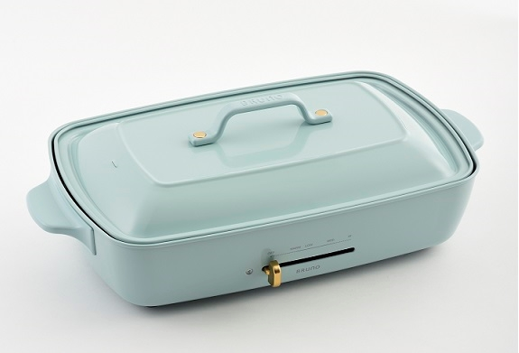 Bruno Hot Plate Grande Size (Light Blue) (Suggested retail price: $1498)