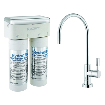 Picture of Azure Hydro Blue Water Filtration System with Essential Drinking Faucet