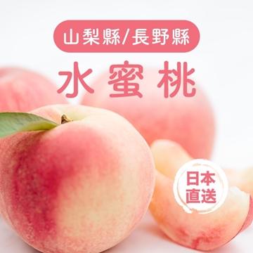 圖片 Aplex 日本溫室水蜜桃 一箱(約1.8KG)