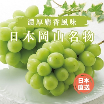 Picture of Aplex Okayama's Japanese Shine Muscat Grapes