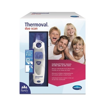 Picture of Thermoval® Duo Scan Ear and forehead Therometer
