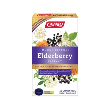 Picture of CATALO Elderberry Immune Defense Gum Drops 15 Gum Drops