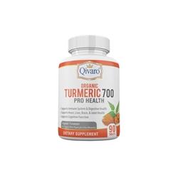 Qivaro Organic Turmeric 700 Pro Health (90 Tablets)