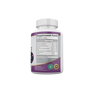 Picture of Qivaro Ultra B-Complex Pro Health (50 coated tabs)