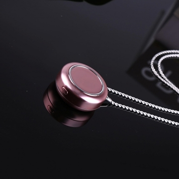 Picture of Japan Silver Portable Necklace Air Purifier