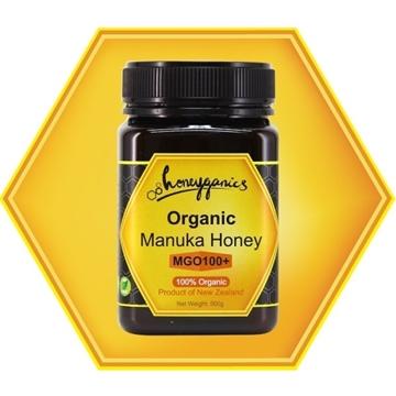 圖片 Honeyganics有機麥蘆卡蜂蜜 MGO 100+ 500g