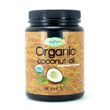 Picture of Enature Organic Deodorized & Tasteless Coconut Oil 1L