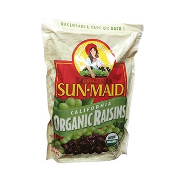 Picture of SunMaid California Organic Raisin Dried 2 lbs