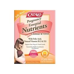 CATALO Pregnancy Essential Nutrients Formula 27 Jelly Bites