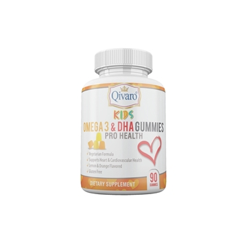 Picture of Qivaro Kids Omega 3 & DHA Gummies