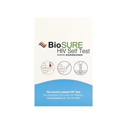 BioSURE 爱滋病病毒 (HIV) 自我检测器