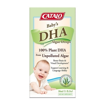 圖片 CATALO 嬰兒藻油DHA活腦補眼滴劑 30毫升
