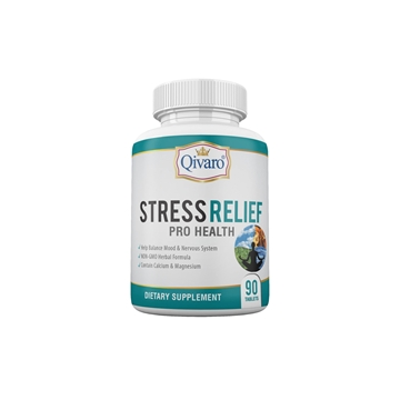 Picture of Qivaro Stress Relief Pro Health 90 tablets