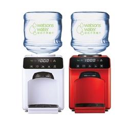 屈臣氏 家居水机 - Wats-Touch冷热水机 +12公升家庭装蒸馏水 x 36樽(电子水券)