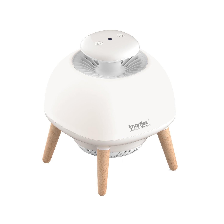 伊瑪智能光感UVA風導式誘蚊燈IMK-009