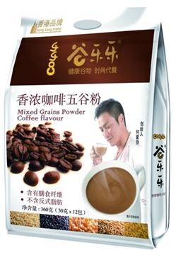圖片 勁家莊 香濃咖啡味五穀粉 360克(袋裝)