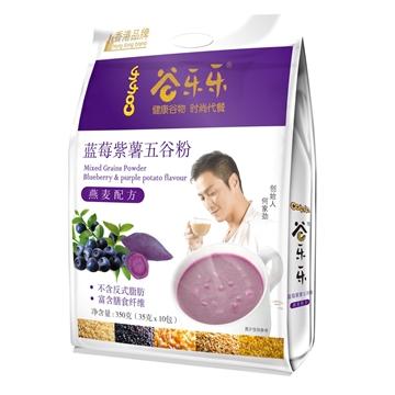 圖片 勁家莊 藍莓紫薯五穀粉 350克 (袋裝)
