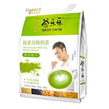 Picture of Kings Health Food Multigrain Cereal Maccha Milk Tea Powder(350g)
