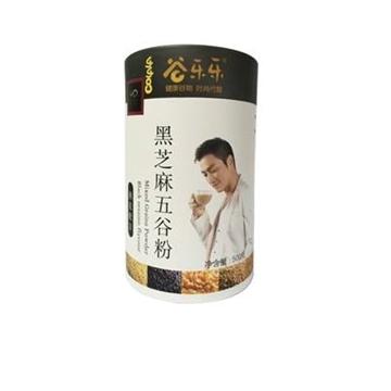 图片 劲家庄 黑芝麻五谷粉 500克 (罐装)