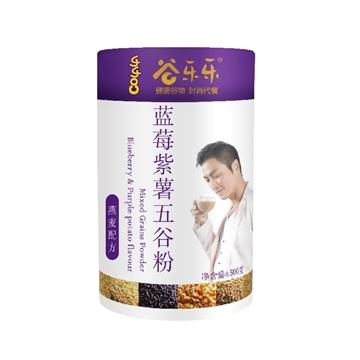 圖片 勁家莊 藍莓紫薯五穀粉 500克 (罐裝)