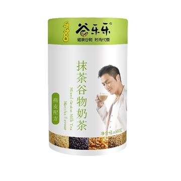 图片 劲家庄 抹茶谷物奶茶 500克 (罐装)