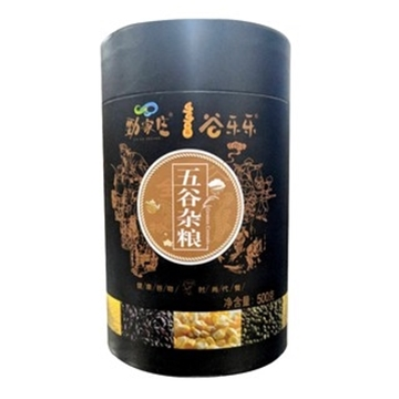 Picture of Kings Health Food Whole Grain Black Sesame Cereal Powder (500g)
