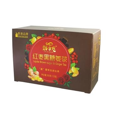 圖片 勁家莊  紅棗黑糖玫瑰姜茶 300克