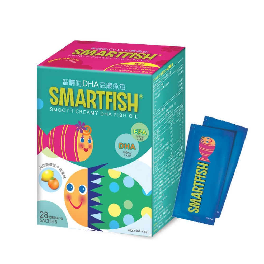 Smartfish 智睛叻DHA忌廉魚油