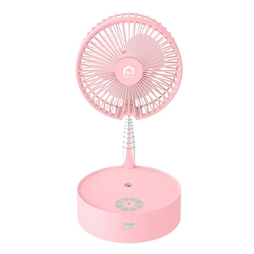 Picture of Japan YOHOME folding telescopic wireless humidification fan with night light