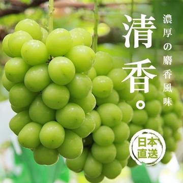 图片 Aplex 日本山梨香印青提子 (麝香葡萄)