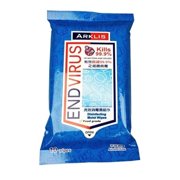 Picture of Arklis Endvirus Sanitizing Wet Tissue