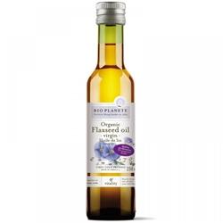 Bio Planete Cold-Pressed Organic Flaxseed Oil (250ml)