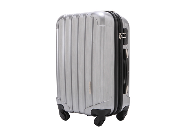 "Le Maurice Transform 28"" Luggage (Brushed Platinum)"