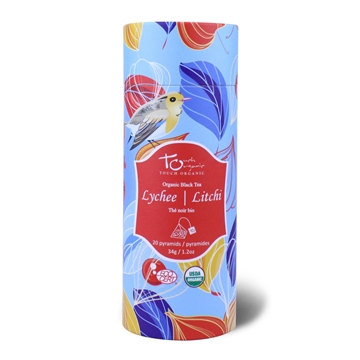 Picture of Touch Organic Lychee Black Tea 20 Bags