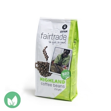 Picture of Oxfam Fairtrade Organic Highland Coffee Beans
