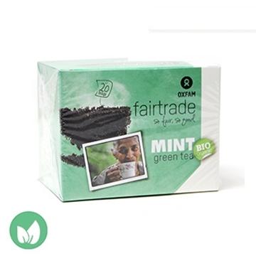 圖片 Oxfam Fairtrade 有機薄荷綠茶 36g