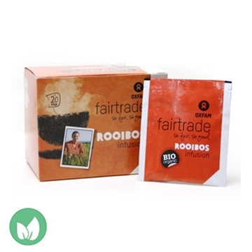 Picture of Oxfam Fairtrade Organic Rooibos Herbal Tea 36g