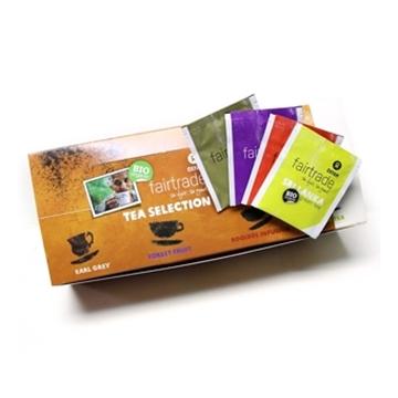 图片 Oxfam Fairtrade 有机茶套装 (4款味道, 100包)