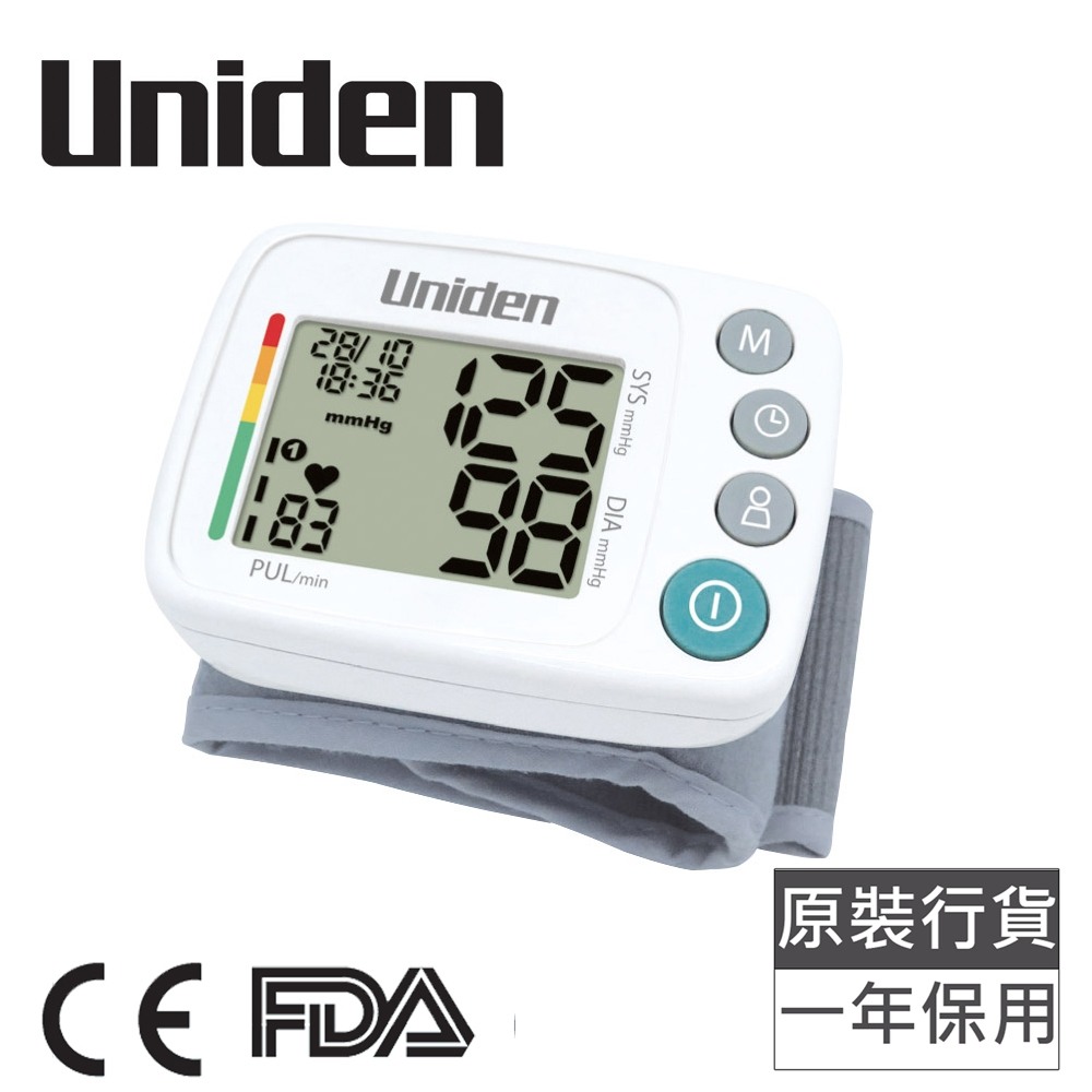 Uniden AM2102 手腕式血壓計