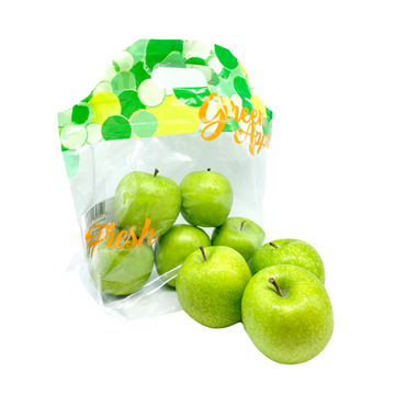 Picture of Fresh Checked Green Apple bag packed (5 pieces)