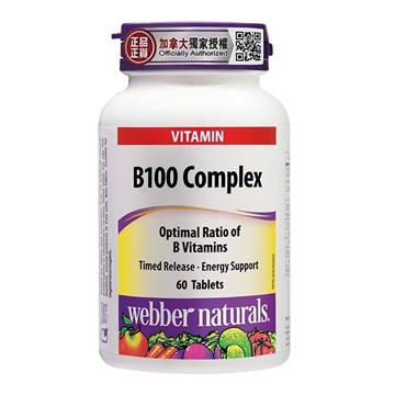 Picture of Webber Naturals B100 Complex (Time Release)