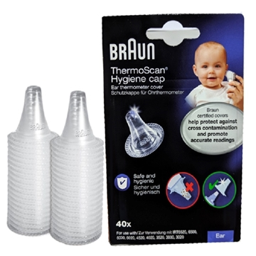 Picture of Braun ThermoScan LF40 Hygiene Cap 40pcs