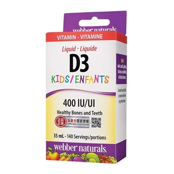 Picture of Webber Naturals Liquid Vitamin D3