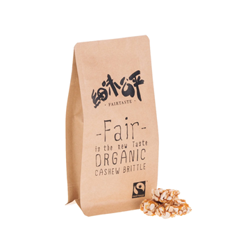 Picture of Organic Cashew Brittle (70g)