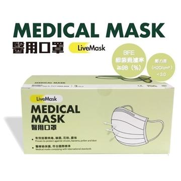 Picture of LiveMask Adult Medical Masks 50pcs