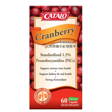 Picture of CATALO Cranberry Extract 60 Capsules