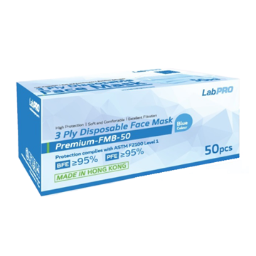Picture of LabPro 3 Ply Disposable Face Mask ASTM Level 1 50pcs