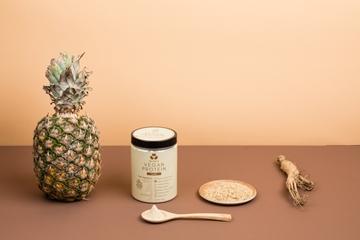 图片 Beanie 澳洲即冲纯素蛋白粉 香草味 (240克)