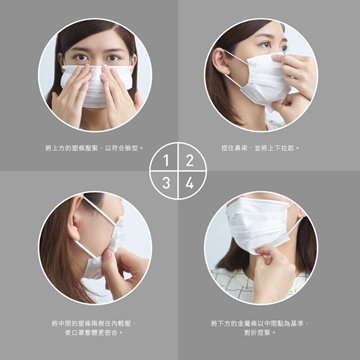 Picture of Taiwan BrealaxLab Medical Face Masks – 2 boxes (100 pcs in total)