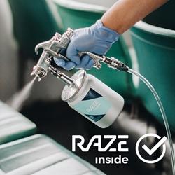 RAZE inside Professional Nano-Photocatalyst Coating Service
